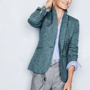 J.Crew Campbell Blazer in Herringbone Wool